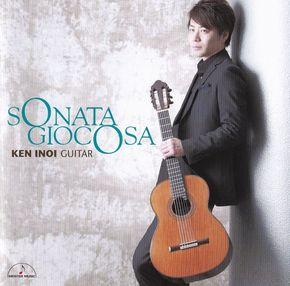 【猪居謙デビューCD 「SONATA GIOCOSA」  】 2015年 / 日本 / 新品 / 販売中 /  3,100円 / ケース有