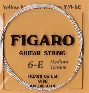 【国産手工弦 「FIGARO」  YELLOW】 0年 / 日本(兵庫県) / 新品 / 販売中 /  1,080円 / ケース無